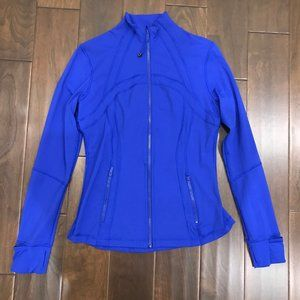 Lululemon Define Jacket Nulux Jet Stream Size 10